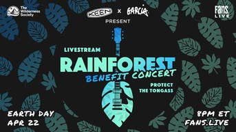 KEEN x Garcia Present Rainforest Benefit Concert Protect the Tongass