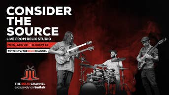 Consider the Source Live from Relix Studio