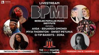 Berklee Popular Music Institute Ft. Aiida, EduArdo Omondi, Myia Thornton, Sweet Petunia, Q-Tip Bandits + Zora