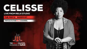 Celisse Live from Relix Studio