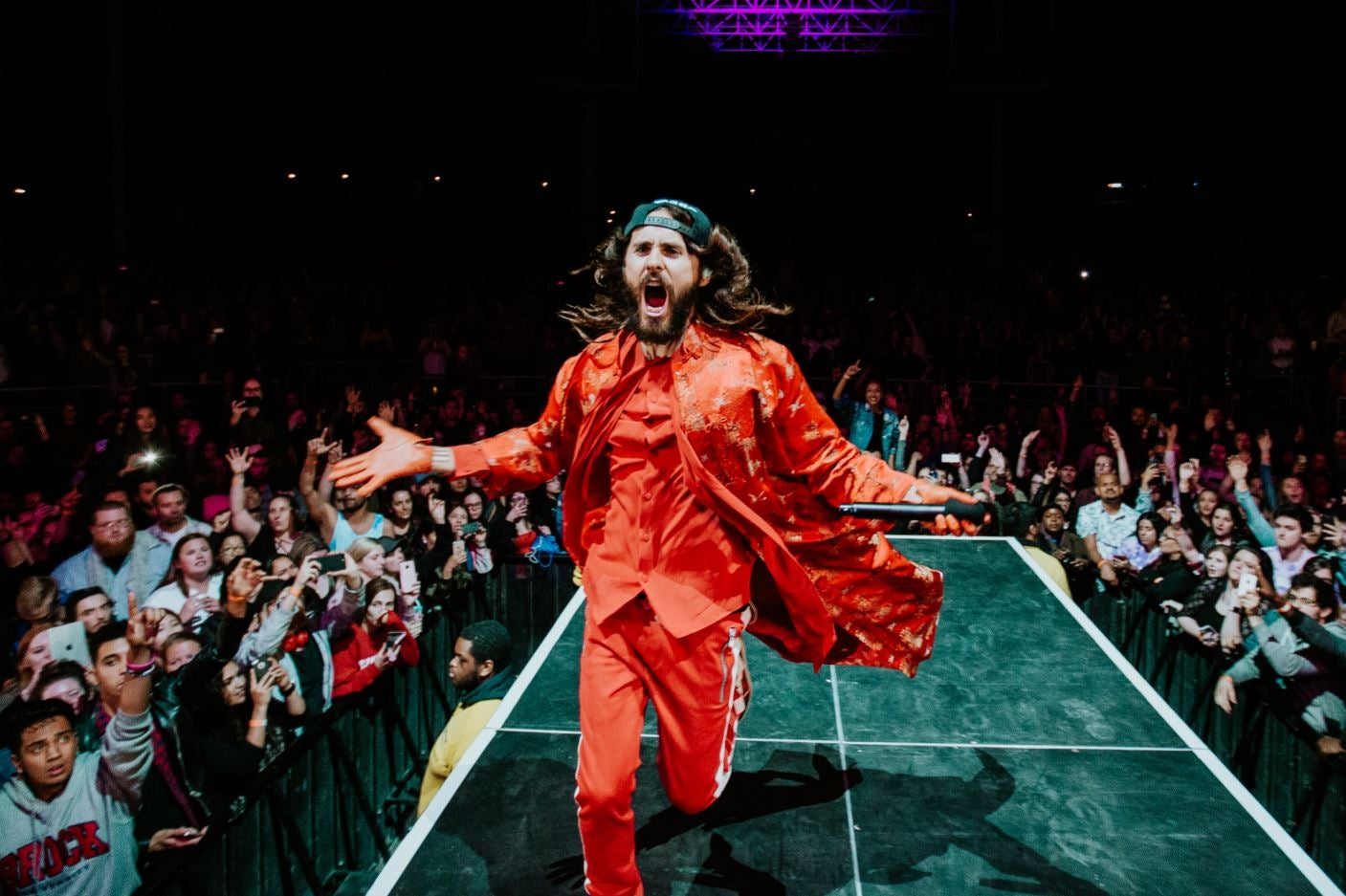 """THIRTY SECONDS TO MARS RELEASES NEW VIDEO """"HAIL TO THE VICTOR"""" IN TRIBUTE TO THE LIVE MUSIC INDUSTRY AND LAUNCHES T-SHIRT RAISING MONEY FOR CREW NATION"""