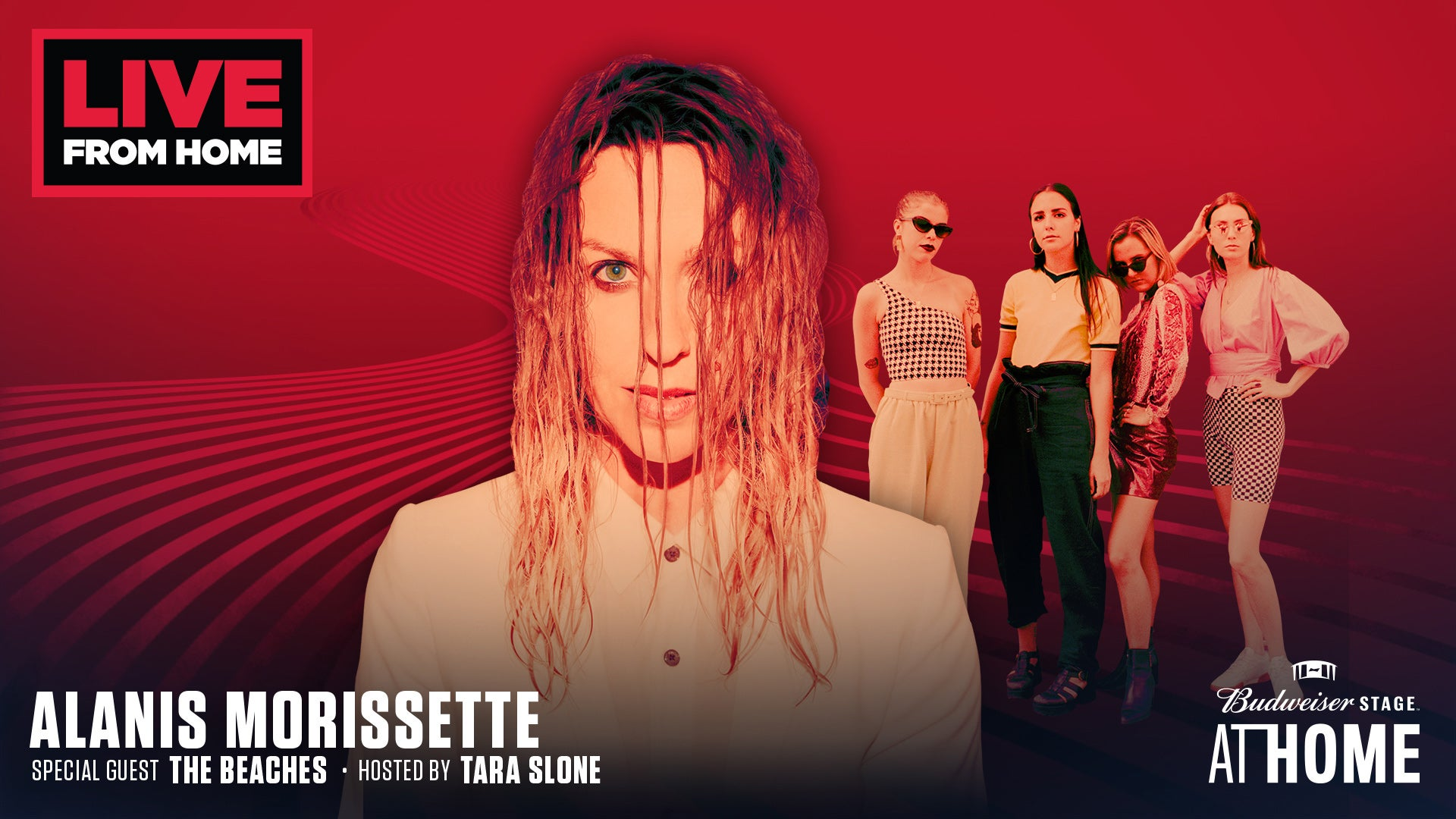 Budweiser Stage At Home: Alanis Morissette and The Beaches