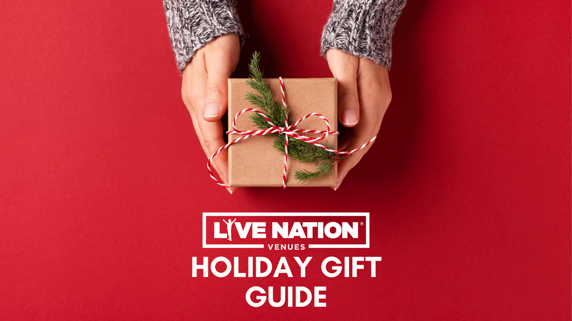 Live Nation Venues Holiday Gift Guide