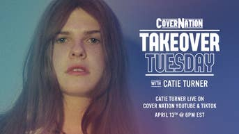 Catie Turner - Cover Nation Takeover Tuesday