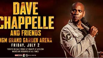 Just Announced! Dave Chappelle & Friends - Tickets On Sale Friday