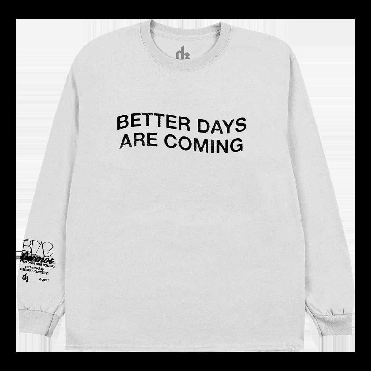 Dermot Kennedy Better Days Are Coming Crewneck