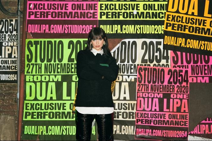 """DUA LIPA INVITES YOU TO """"STUDIO 2054"""""""