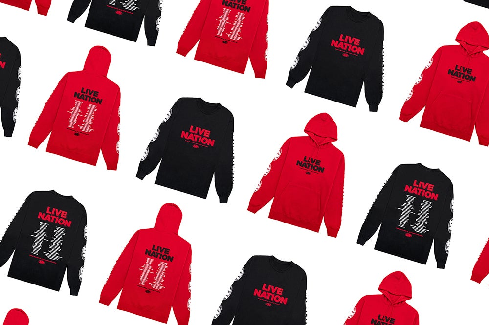 Live Nation Drops New Streetwear Collection