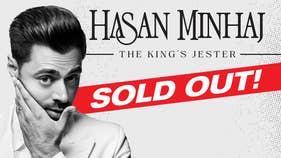 Hasan Minhaj 2021 Tour - On Sale Friday!