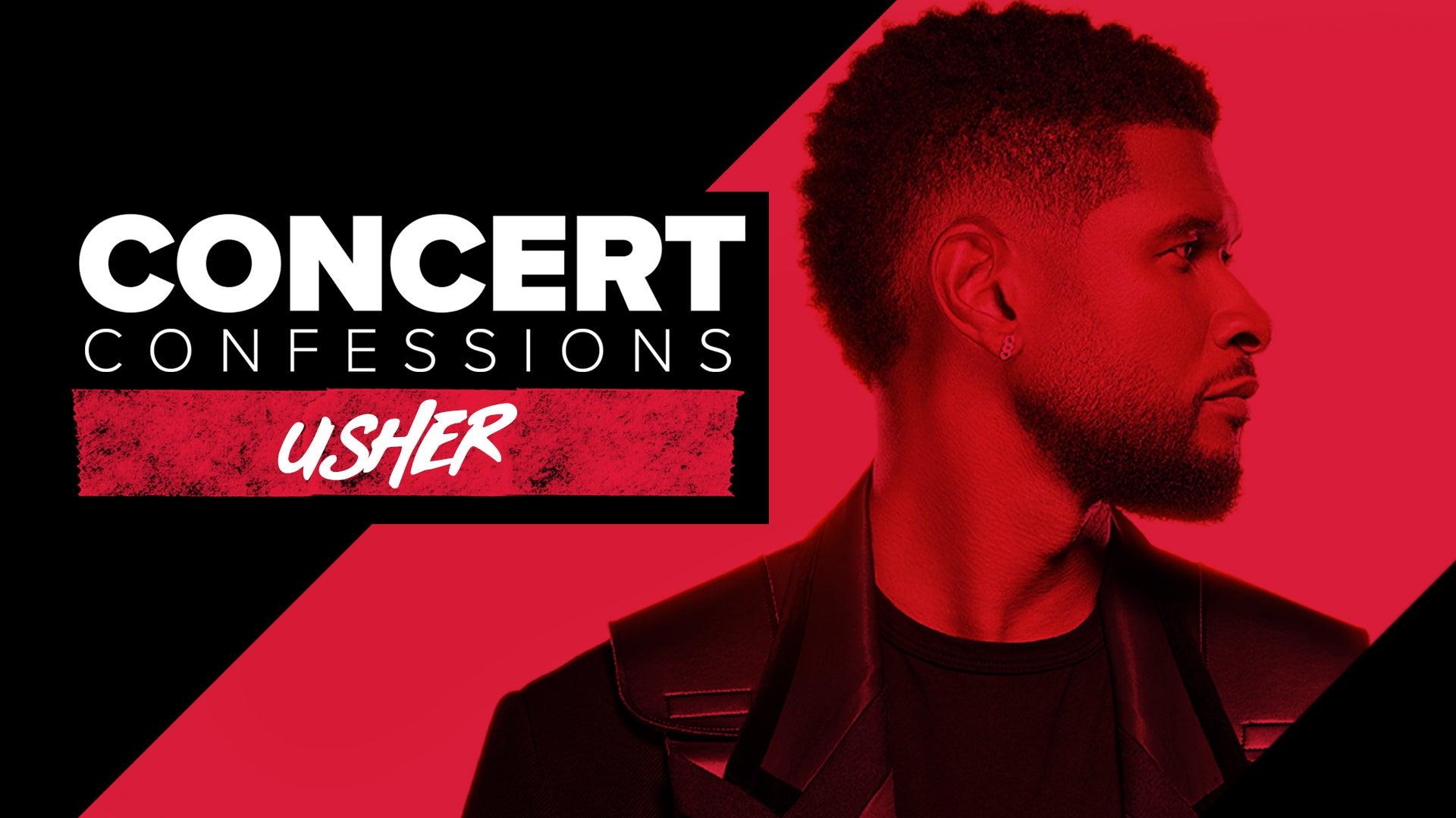 Concert Confessions: Usher