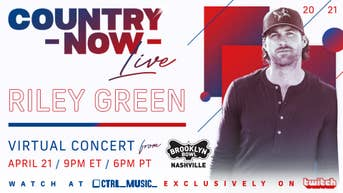 Country Now Live - Riley Green