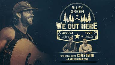 """Riley Green """"We Out Here"""" Tour - Get Tickets Now!"""