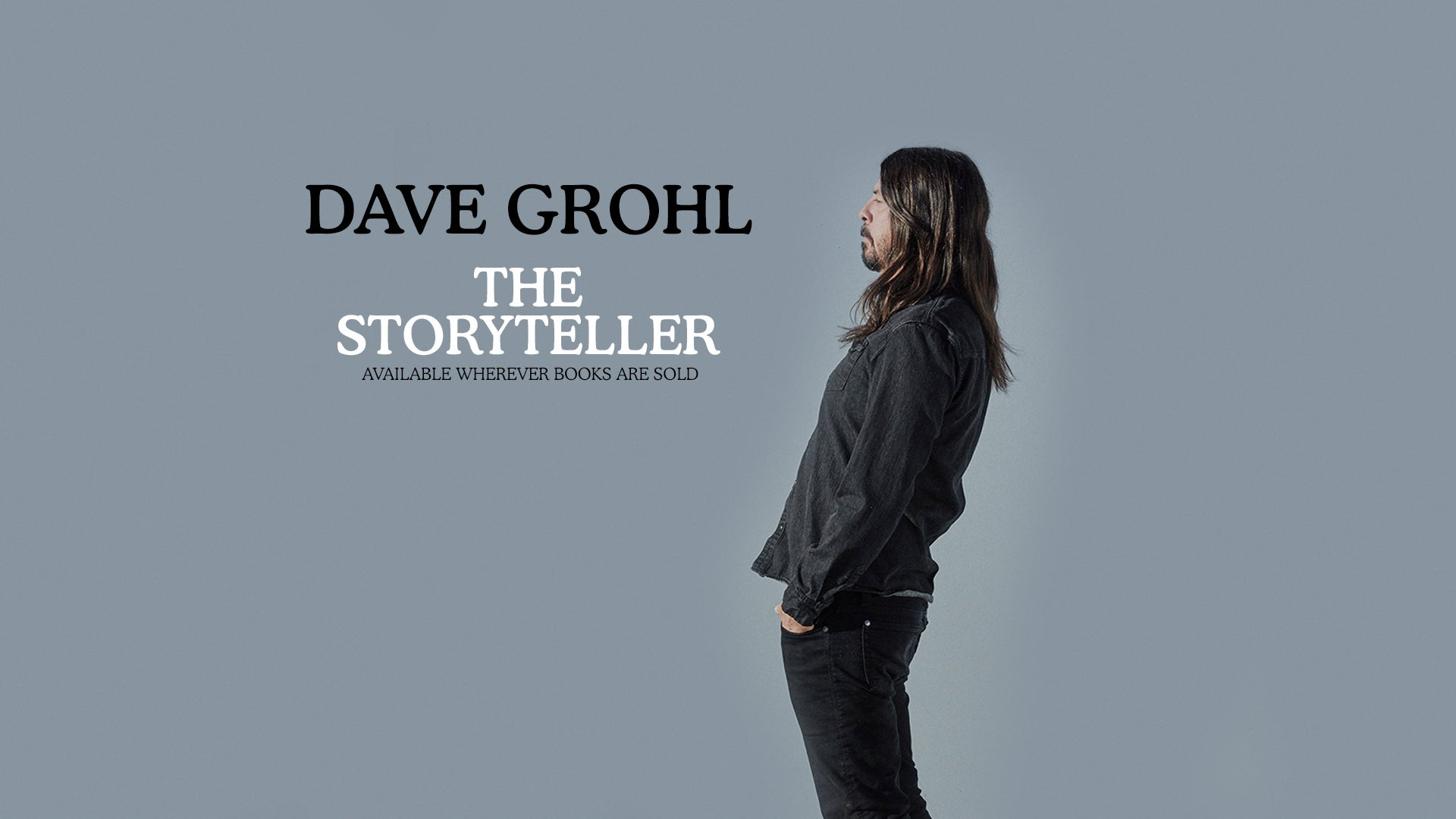 """Dave Grohl Releases New Book """"THE STORYTELLER Tales of Life and Music"""""""