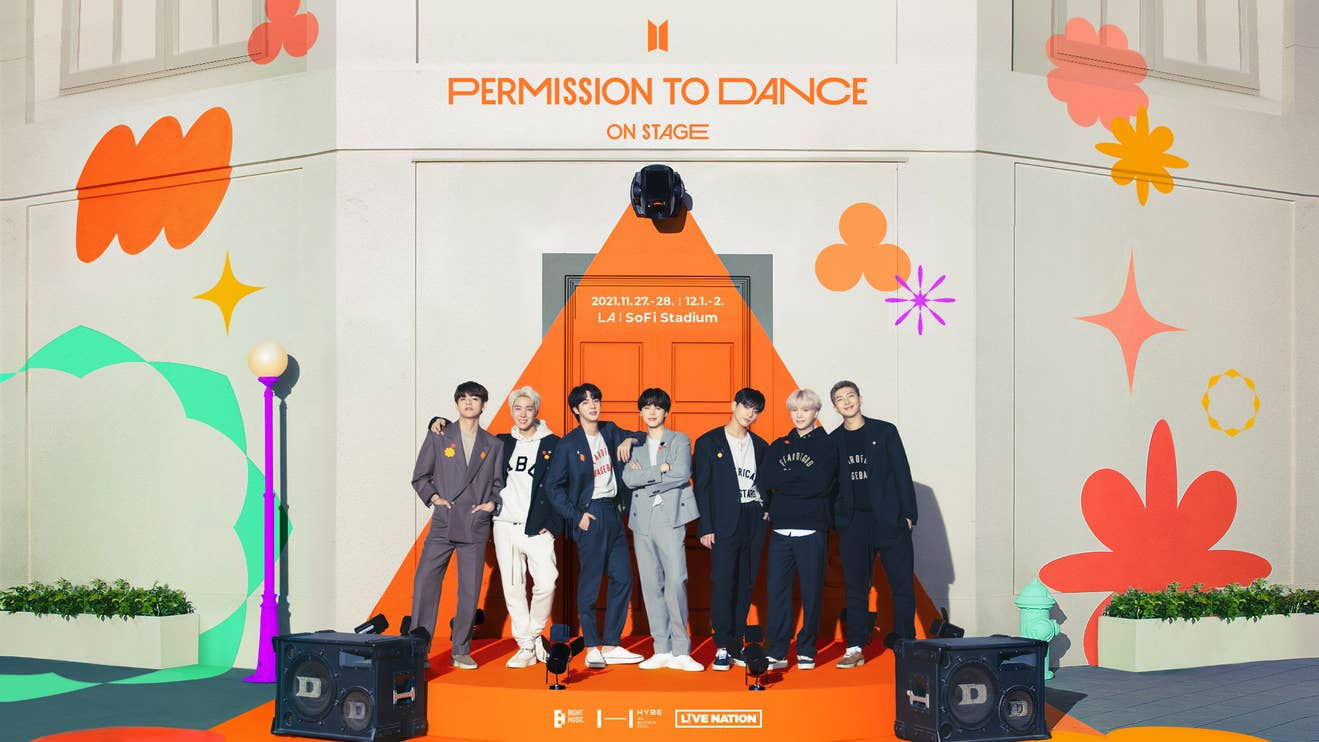 """BTS """"Permission To Dance On Stage"""" Tour - Register for Verified Fan now!"""