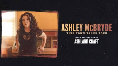 Ashley McBrydde 'This Town Talks' Tour - On Sale Friday!