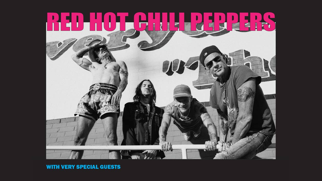 GET TICKETS NOW - Red Hot Chili Peppers 2022 World Stadium Tour
