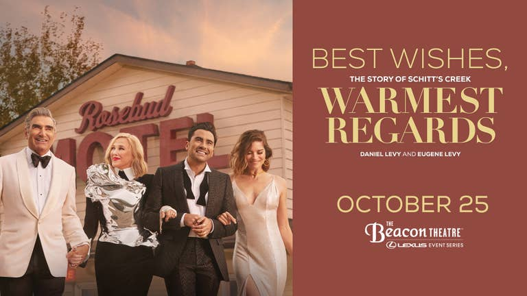 Dan Levy & Eugene Levy: Best Wishes Book Event - Get Tickets Now!