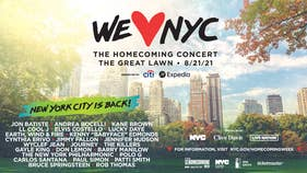 JUST ANNOUNCED! We Love NYC Homecoming Concert