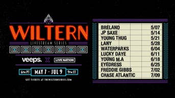 Veeps Presents The Wiltern Livestream Concert Series