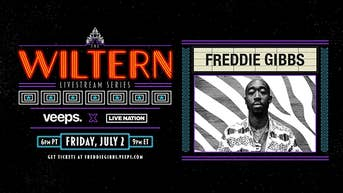 Freddie Gibbs - The Wiltern Livestream Series - Veeps Livestream