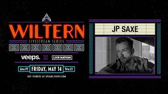 JP Saxe - The Wiltern Livestream Series - Veeps Livestream