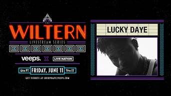 Lucky Daye - The Wiltern Livestream Series - Veeps Livestream