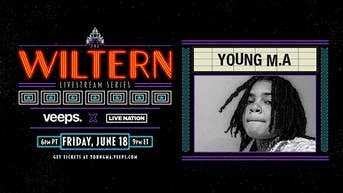 Young M.A. - The Wiltern Livestream Series - Veeps Livestream